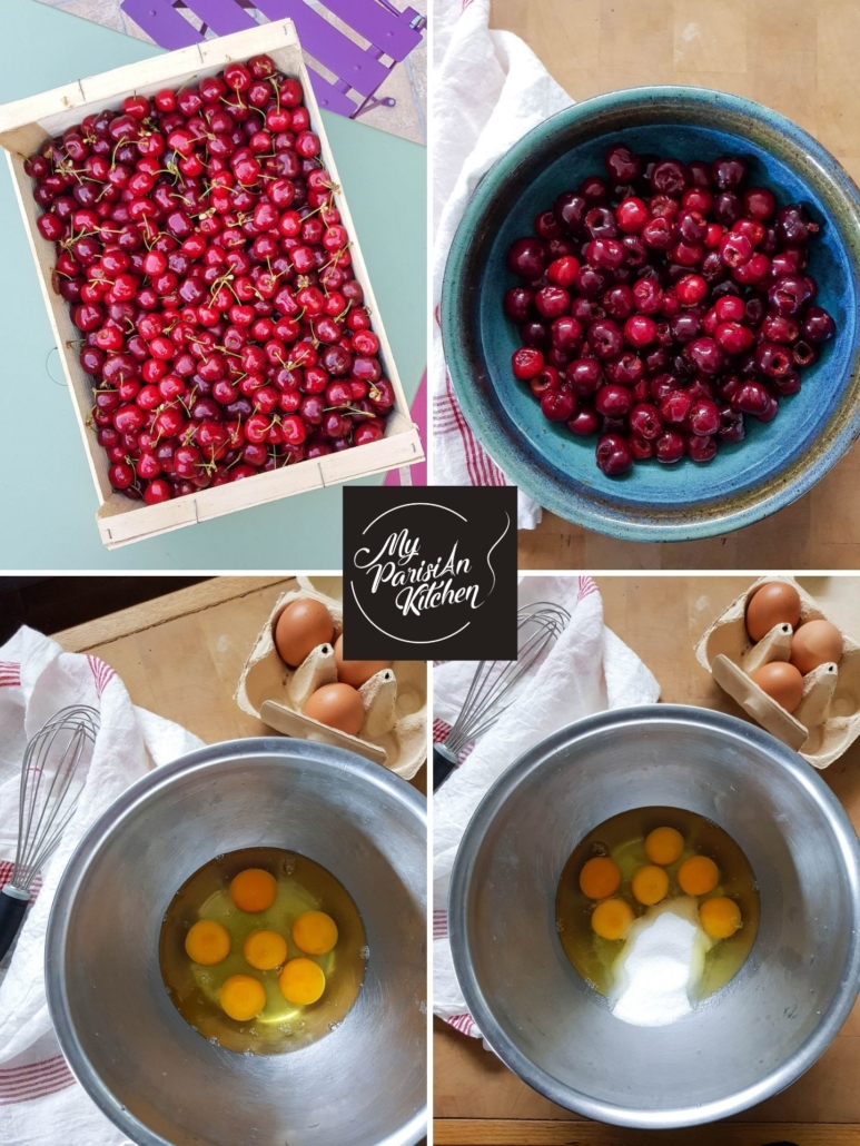 best cherries to bake a French clafoutis