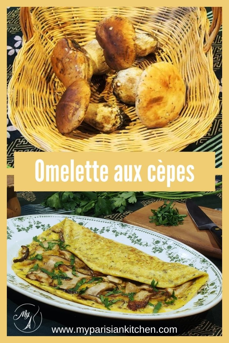 omelette aux cepes
