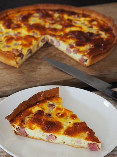 Quiche lorraine traditionnelle