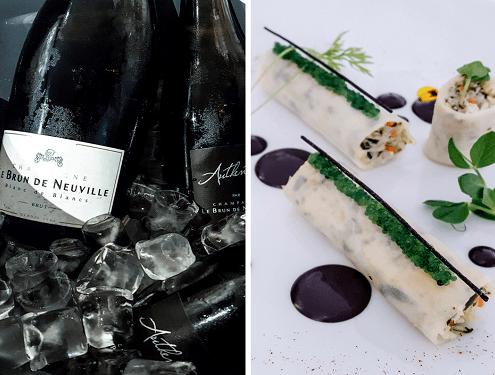 Dégustation Grand Véfour Champagnes Le Brun de Neuville