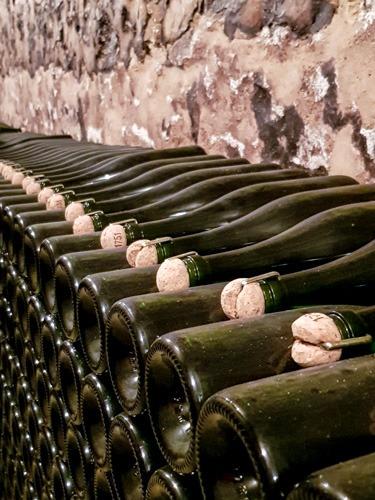 Visite des caves de champagne grand cru Franck Bonville
