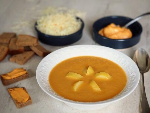 soupe bouillabaisse du pauvre, sans poisson