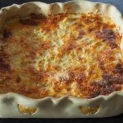 French classic potato gratin