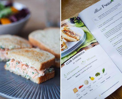 menus de la semaine avec illico fresco