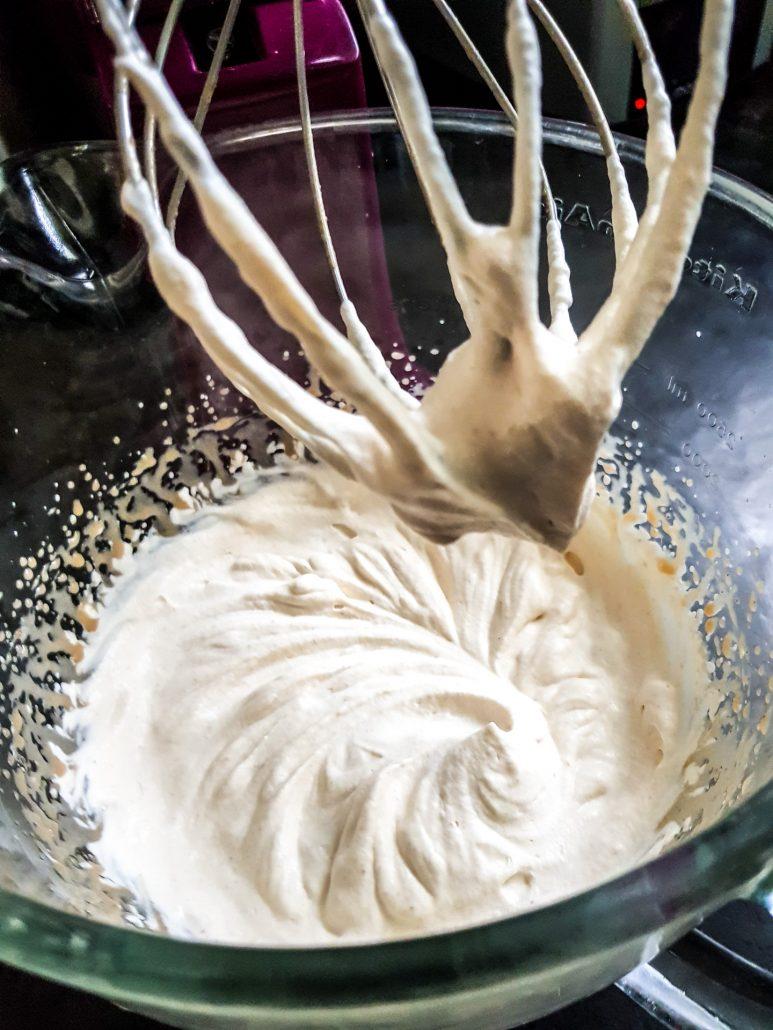 crème chantilly à la crème de marron
