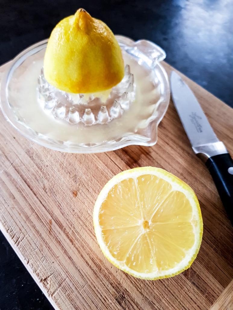 citron et jus de citron