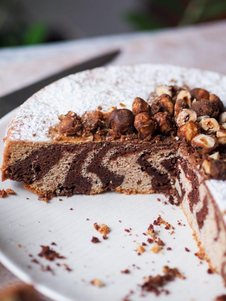 cake marbré au chocolat gâteau le Fraternel créé pour le secours catholique