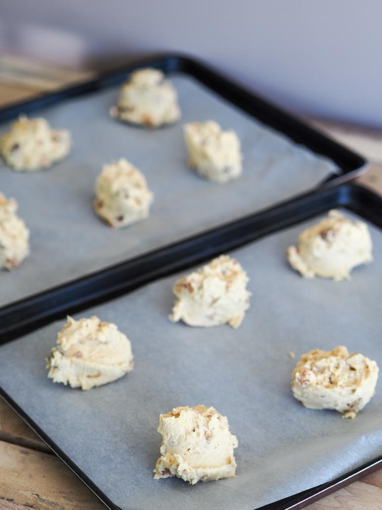 un peu de pâtisserie avec des cookies aux flocons d'avoine