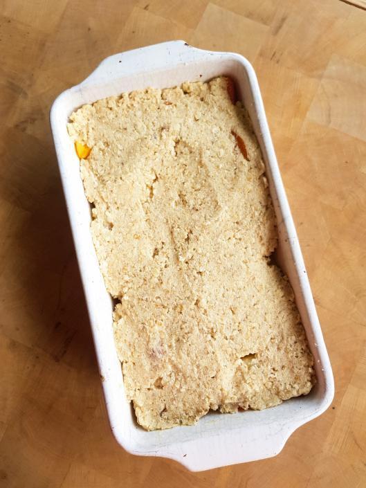 pâte à crumble aux flocons d'avoine