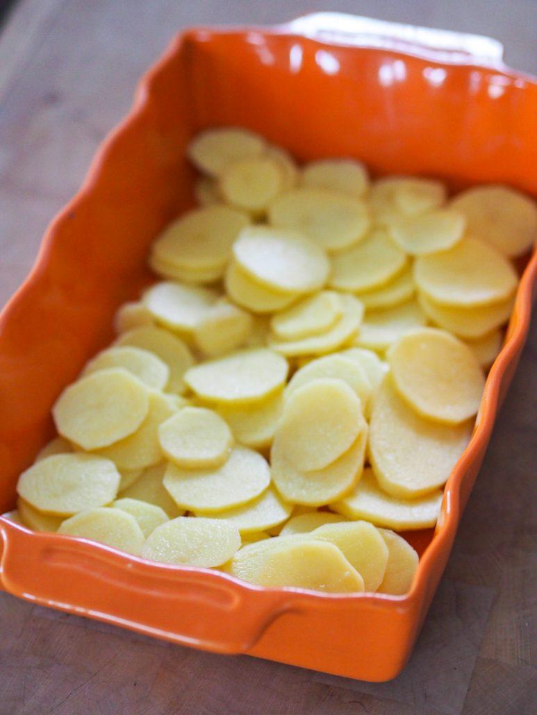 pommes de terre pour le gratin
