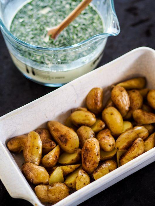 pommes de terre ratte du touquet pour le gratin