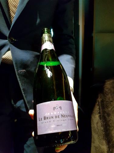 champagne grand cru Le Brun de Neuville Grand vintage