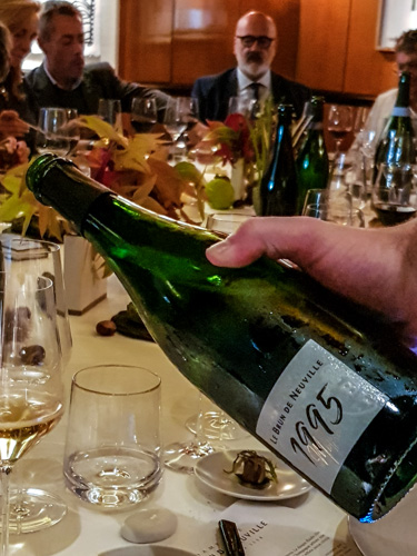champagne grand cru Le Brun de Neuville 1995