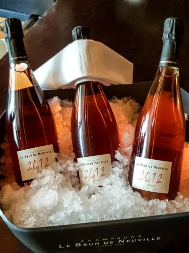 champagne grand cru Le Brun de Neuville rosé 2012