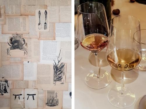 dégustation champagne grand cru Le Brun de Neuville au restaurant Pierre Gagnaire