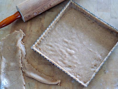 Pâte à tarte sucrée = pâte sablée à la cannelle
