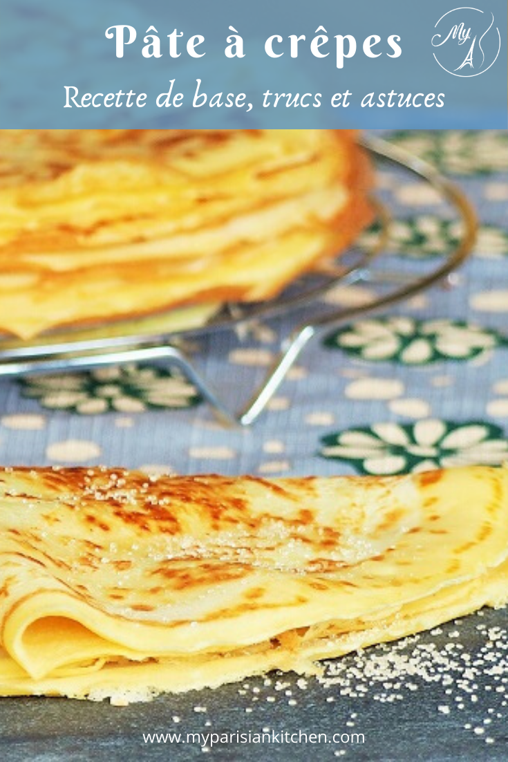 Recettes de base de la pâte à crêpes, conseils, trucs et astuces.