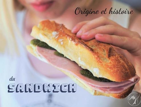 Origine et histoire du sandwich