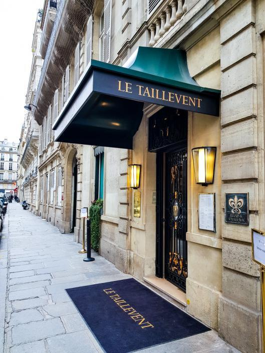 Restautant étoilé Taillevent Paris