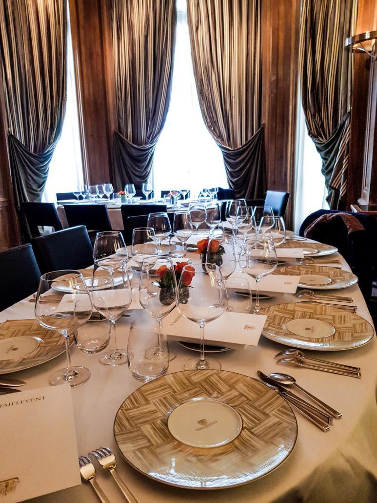 Restaurant étoilé Taillevent Paris