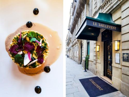 Déjeuner chez Taillevent Paris, fromage Caprice des dieux
