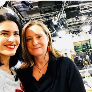 Florence Richomme à l'émission La quotidienne France5