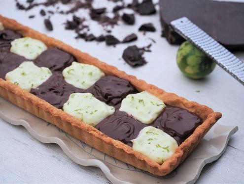 Tarte chocolat et citron pour le Téléthon gourmand