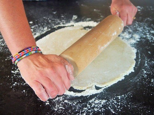 Abaisser une pâte à tarte Recette de pâte brisée