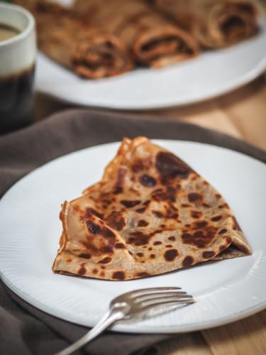 crêpes à la farine de châtaigne, sans gluten