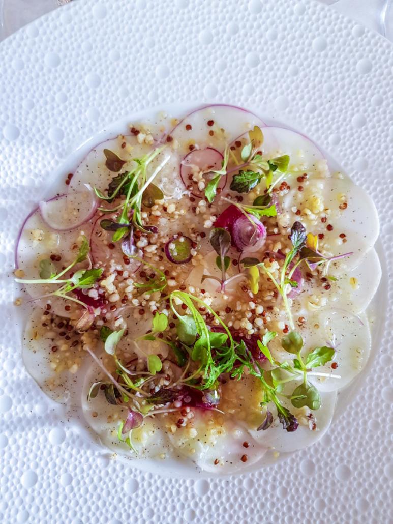 navets au quinoa Tipiak à l'Arpège