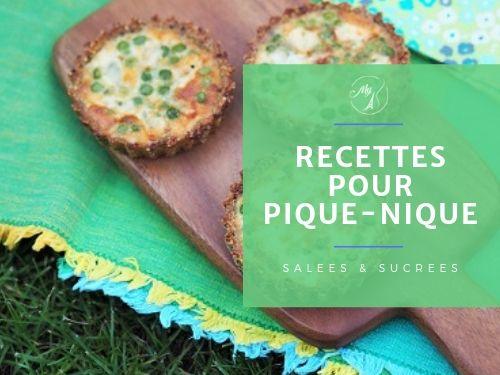 Recettes pour pique-nique sur My Parisian Kitchen
