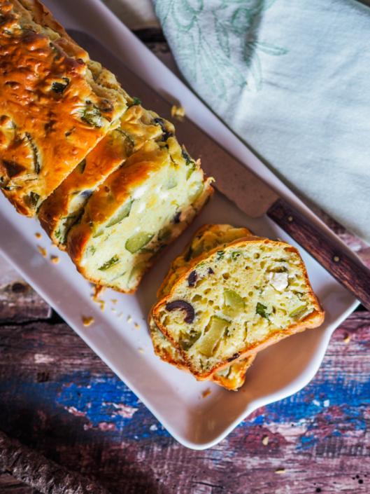 cake salé ultra moelleux légumes et fromage