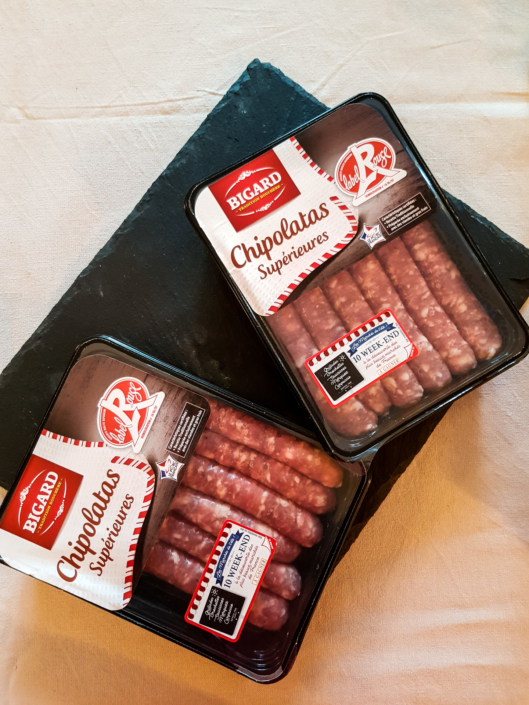 chipolatas label rouge Bigard