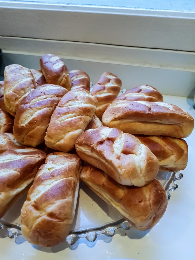 petits pains au lait pour les hot dogs