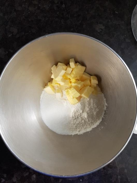 ingrédients de la pâte à tarte