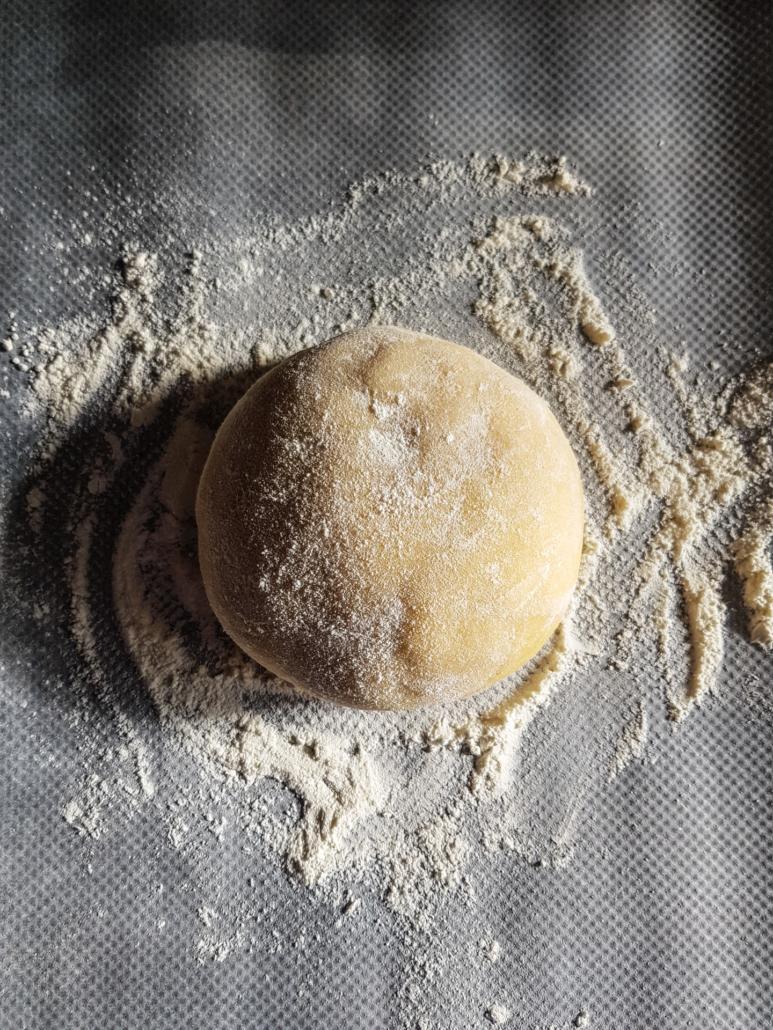pâte sablée pour une tarte aux fruits
