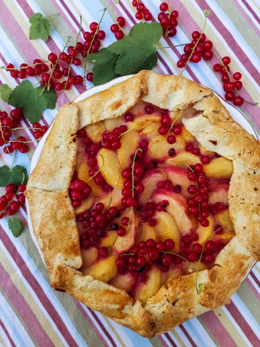 tarte rustique aux fruits d'été