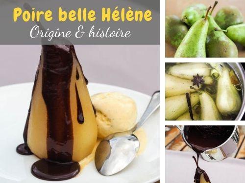 origine et histoire des poires belle Hélène