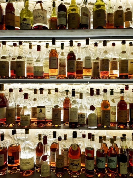 collection de Cognac du Carré des feuillants