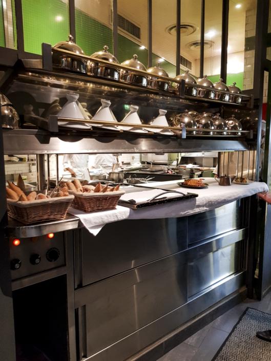 La cuisine du restaurant étoilé le carré des feuillants