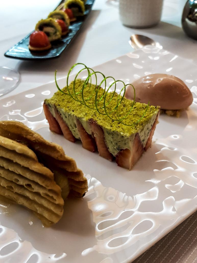 dessert du restaurant étoilé le Carré des feuillants