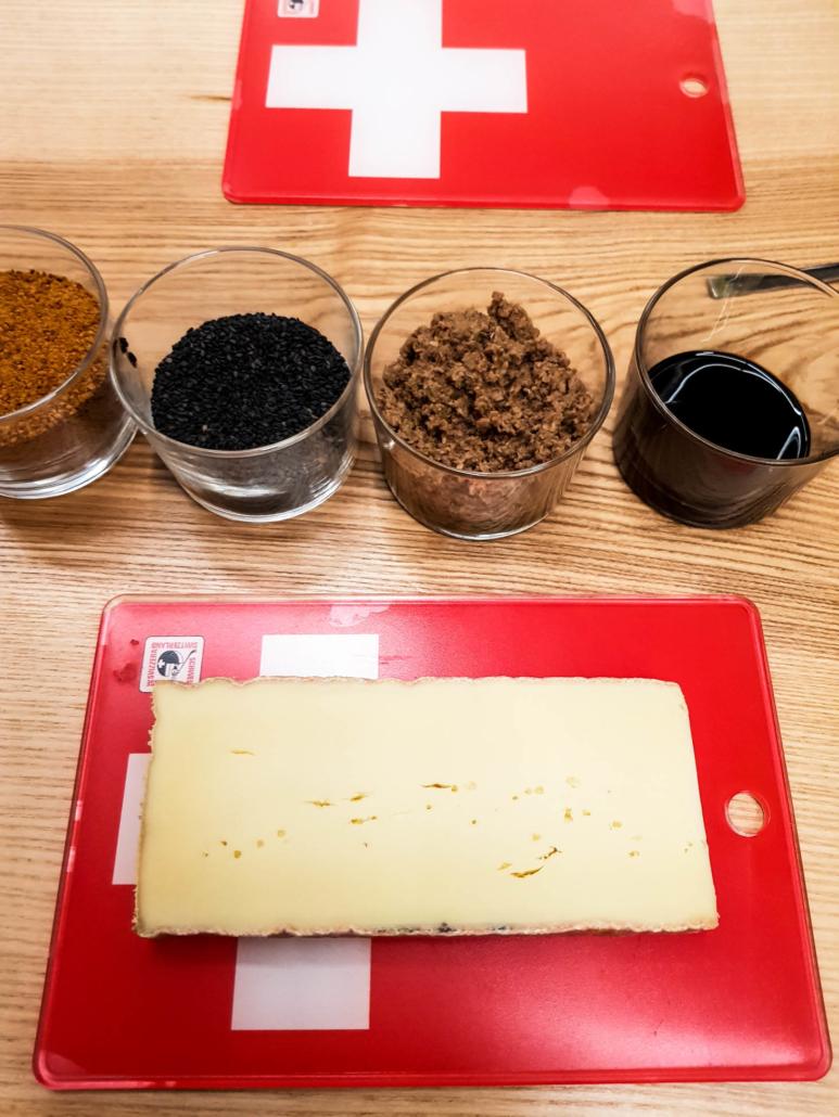 atelier association de saveurs avec le vacherin fribourgeois