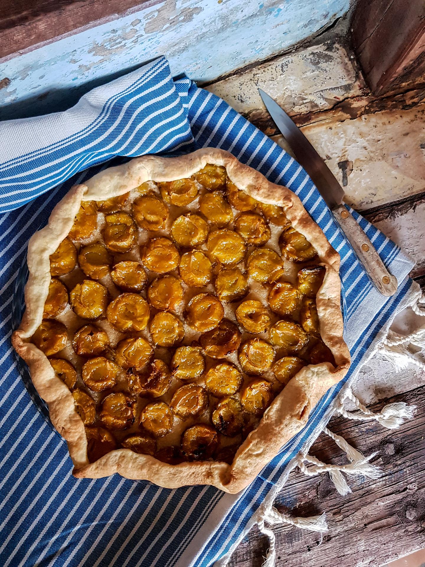 dessert simple et rapide une tarte rustique aux fruits
