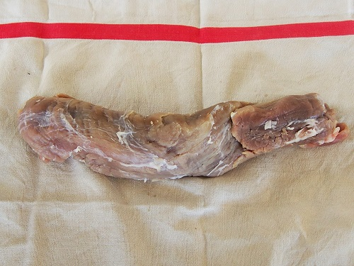 Homemade delis Dried pork tenderlion