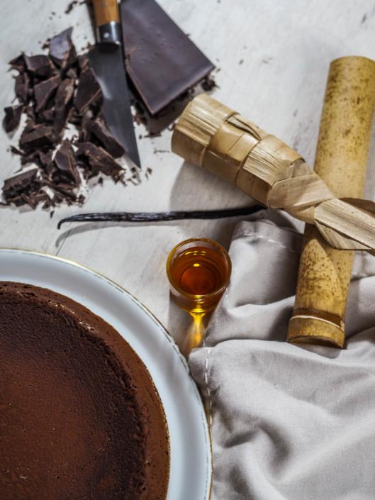Croustimoelleux fondant au chocolat, rhum et vanille des sœurs Scotto