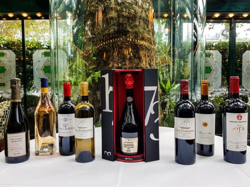 déjeuner dégustation de vins et champagnes au restaurant La closerie des lilas
