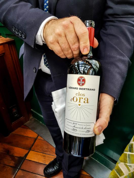"""vin Minervois la Livinière blanc """"Clos d'Ora"""" 2013 Gérard Bertrand"""