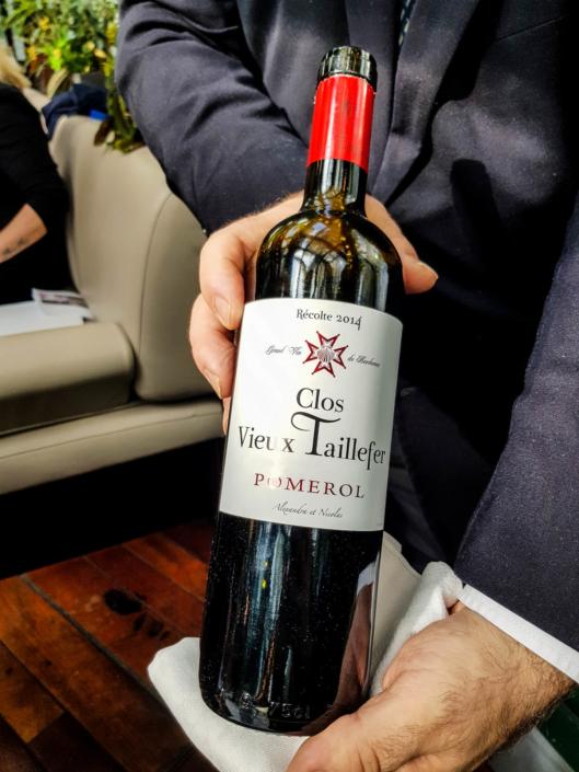 """vin Pomerol rouge """"Clos Vieux Taillefer"""" 2014, Nicolas et Alexandre Robin"""