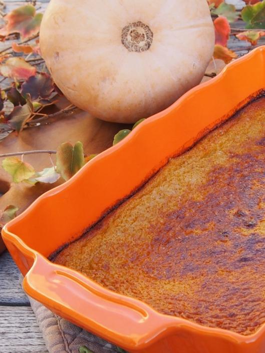 Dessert d'automne avec ce flan à la courge butternut
