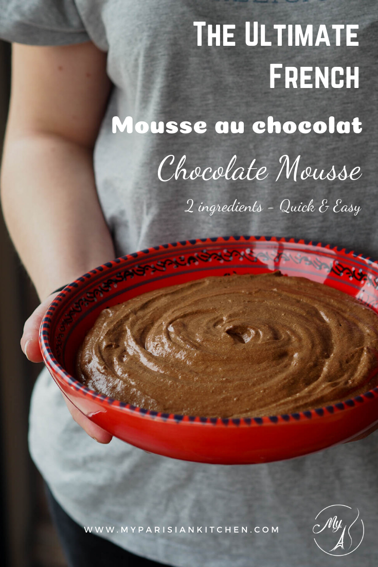 The ultimate French chocolate Mousse